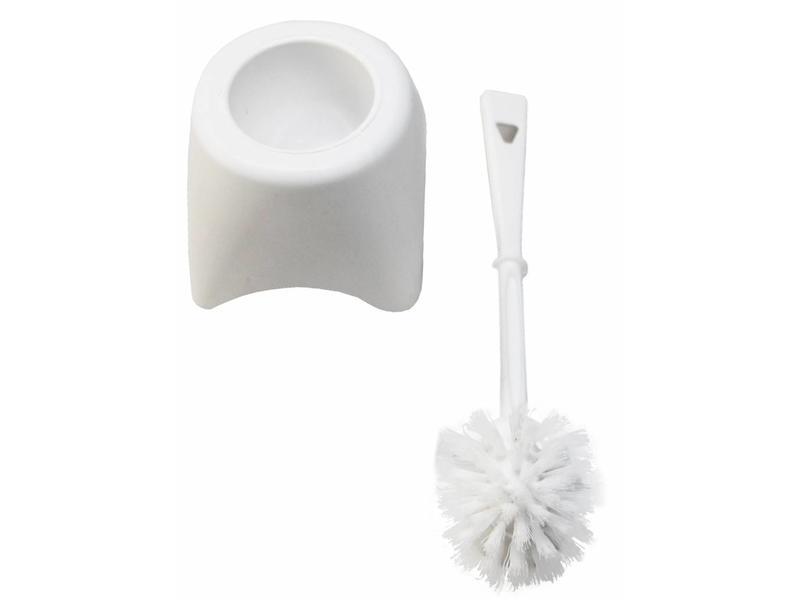 Toiletborstel met houder
