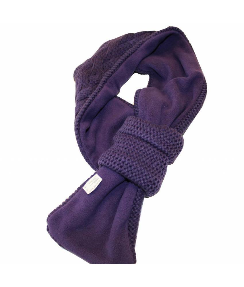 Sjaal doorsteek Kabel gebreid