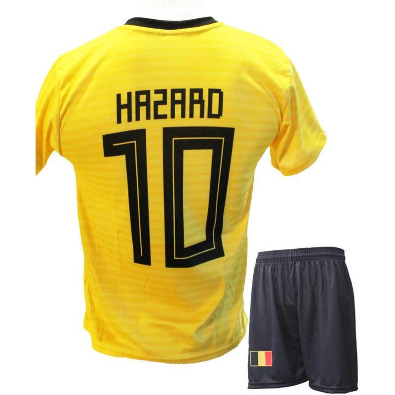 """België Voetbaltenue Hazard """"Uit"""" 2018-2020"""