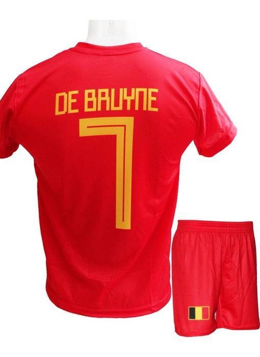 "België Voetbaltenue De Bruyne ""Thuis""  2018-2020"
