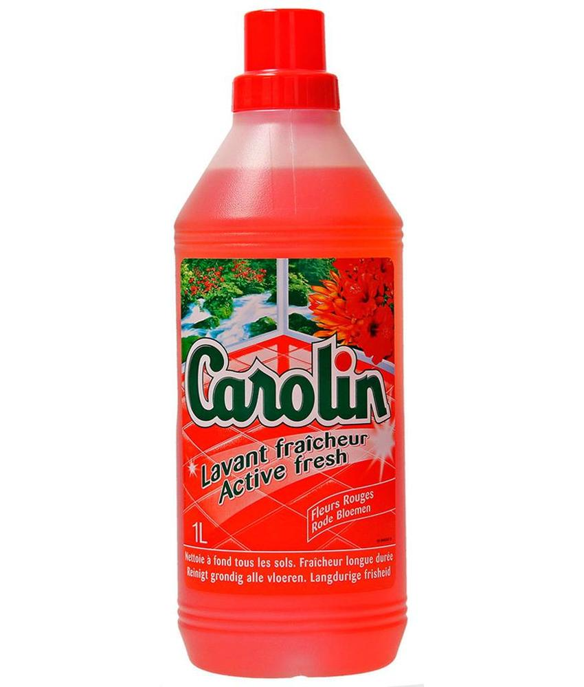 "Carolin Active Fresh  ""Rode Bloemen""  1 L."