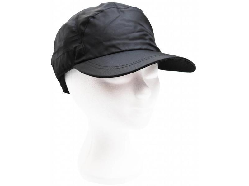 Nylon pet met stopper - zwart