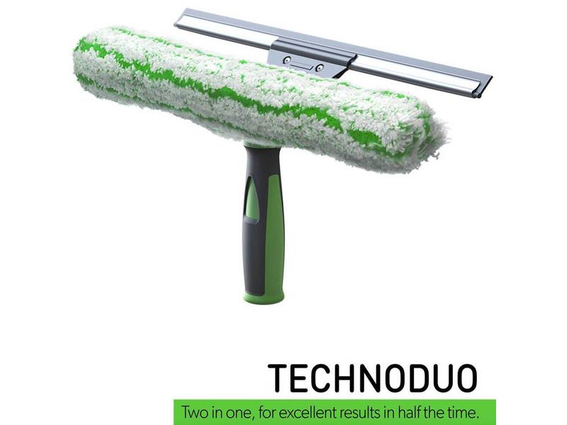 Pulex TechnoDuo Combi Raamwisser en Inwasser   - Groen