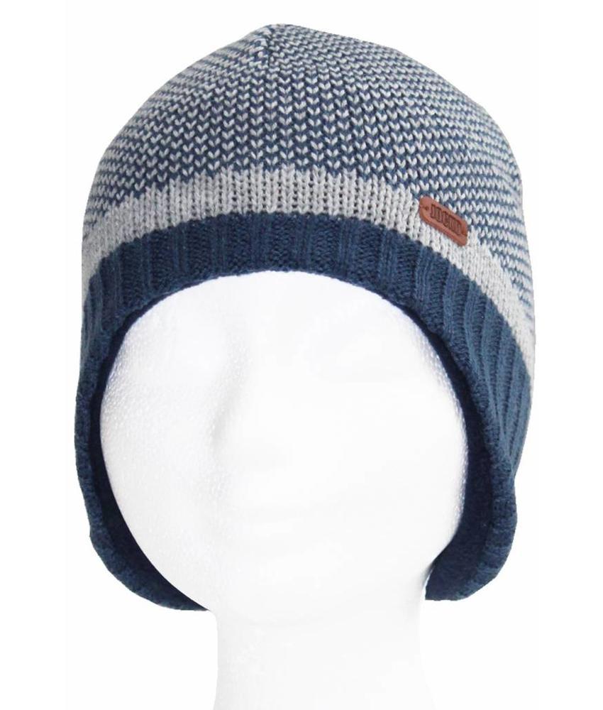 Lapland  kindermuts  blauw/grijs