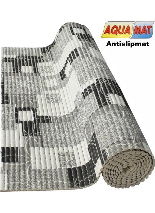 Aquamat antislipmat  grijs / beige   0,65 x 1,20 meter