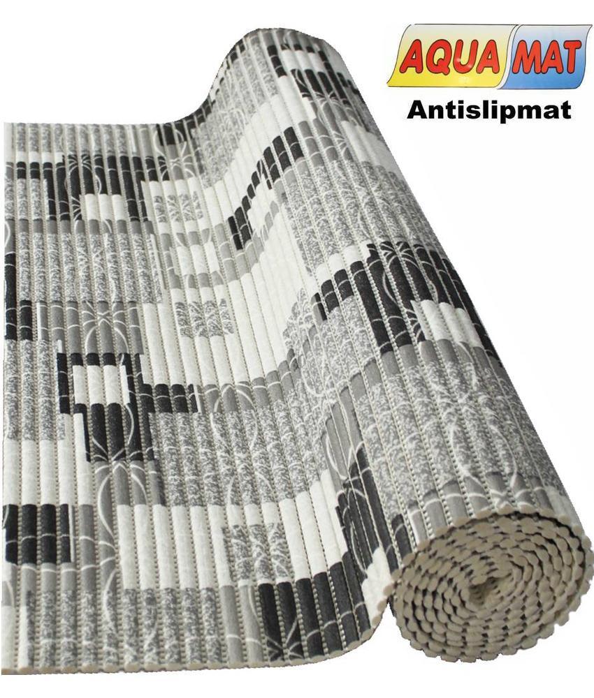 Aquamat antislipmat  grijs / beige   0,65 x 2 meter