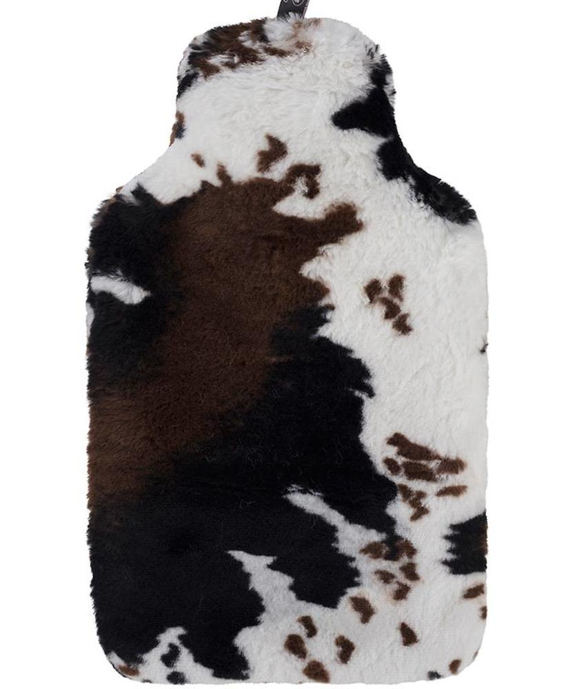 Fashy Warmwaterkruik 2 L.  imitatiebont - Koe design