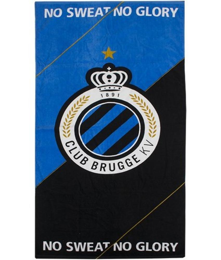 "Strandlaken   Club Brugge  ""No Sweat/No Glory """