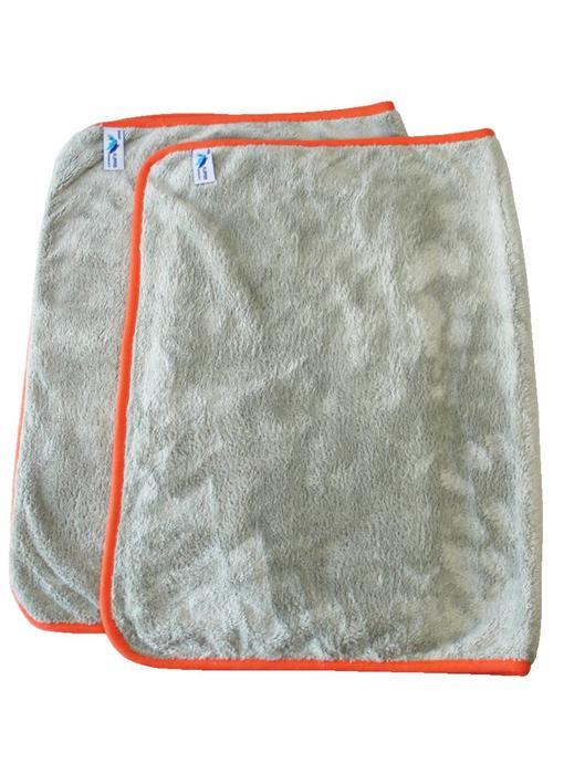 Flipper Nano Dweil  50 x 70 cm.   Grijs - Oranje