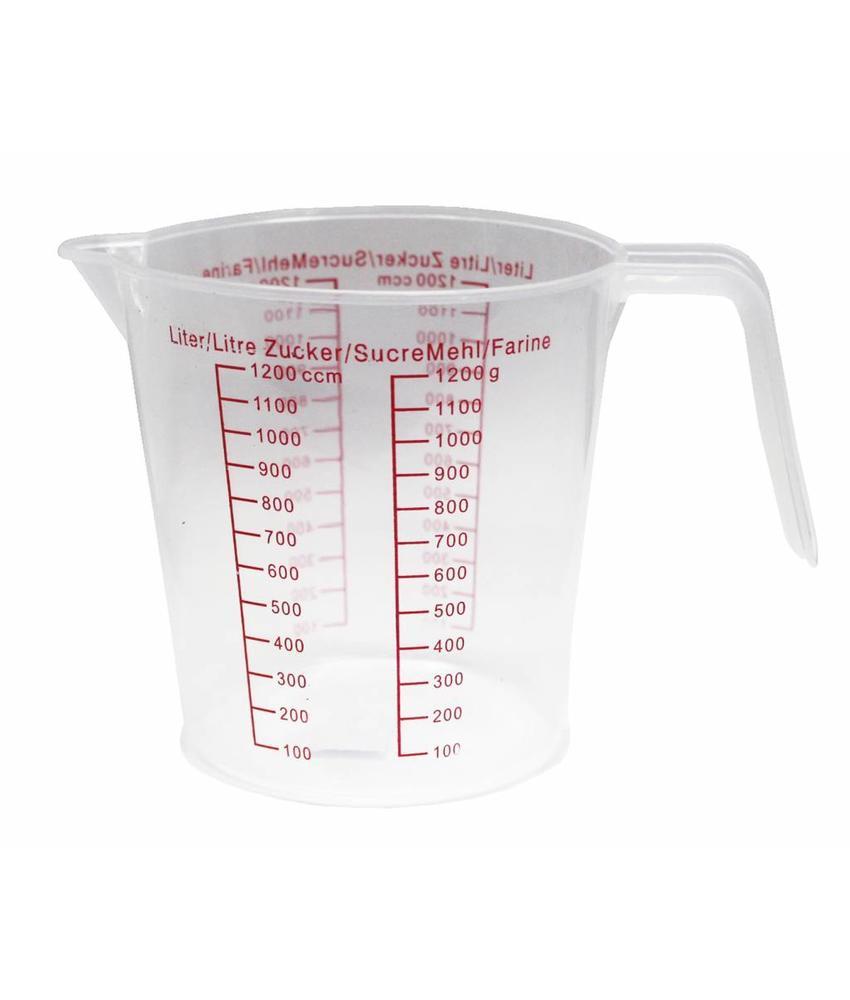 Maatbeker Classic  1,2 Liter