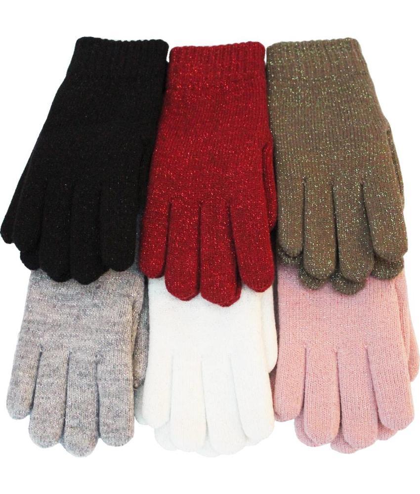 Dames Handschoenen met Lurex