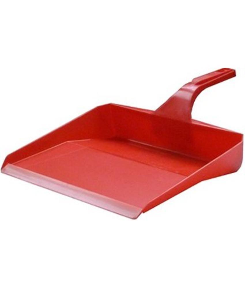 Hygiënisch Vuilblik - 26 cm -  Rood