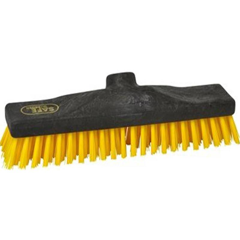 Safe Brush Schuurborstel   industrie - 30 cm - Geel