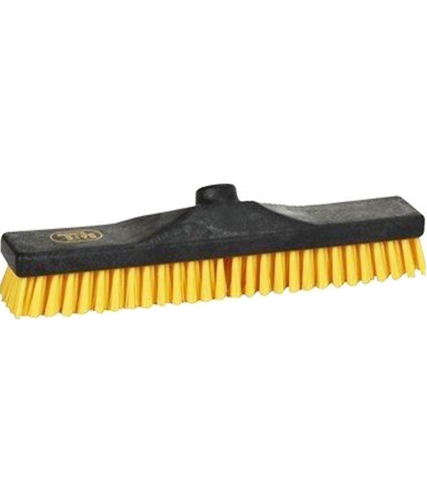 Safe Brush Schuurborstel   industrie - 40 cm - Geel