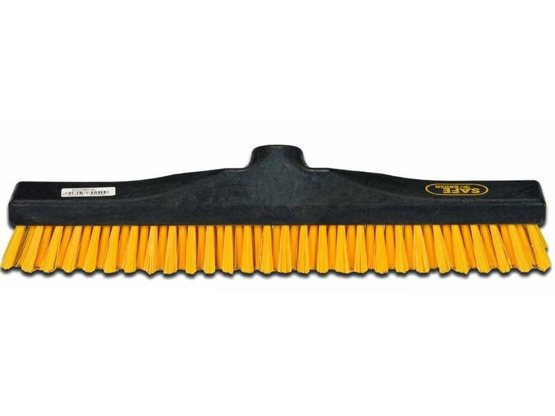 Safe Brush Schuurborstel   industrie - 40 cm - Geel
