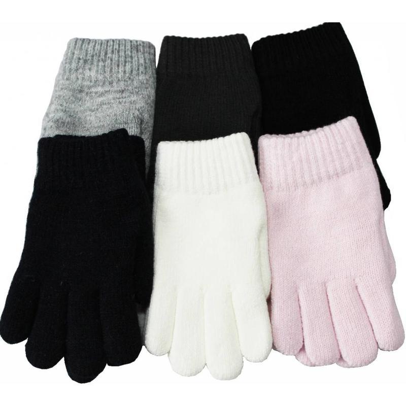Handschoenen met pels kinderen