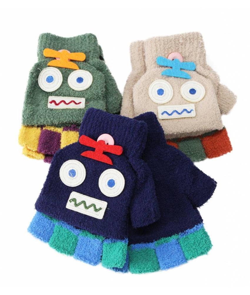 """Kinderhandschoenen zonder vingers """"fantasie"""""""