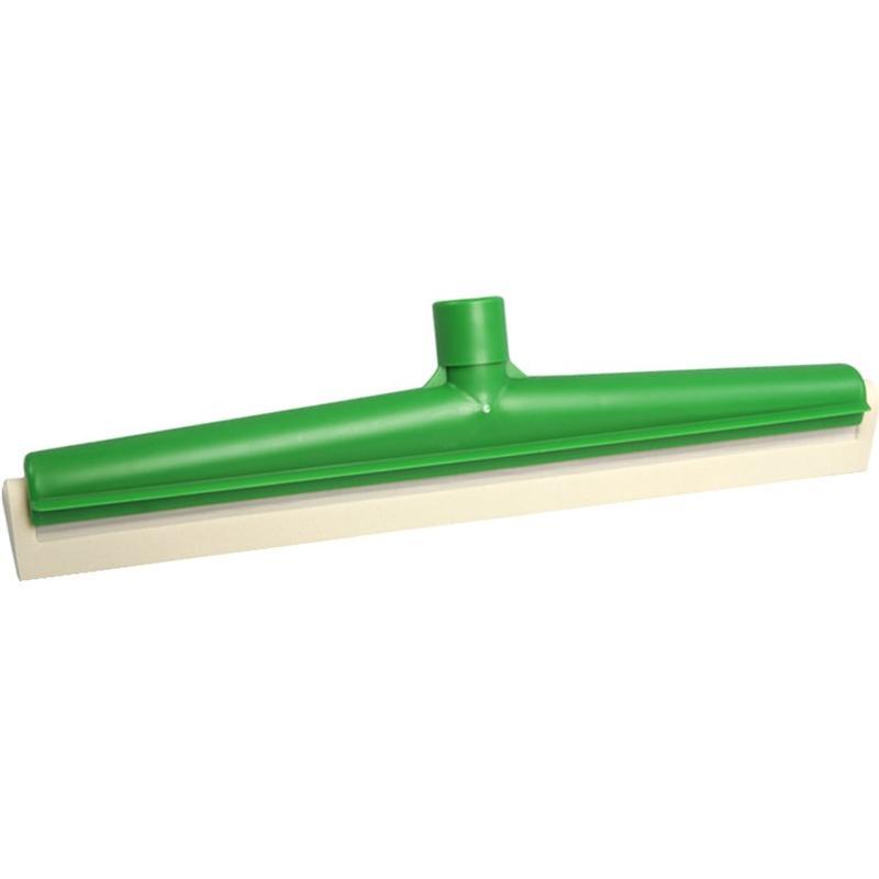 Vloertrekker 40 cm  met vervangbare rubber  Food  -  Groen