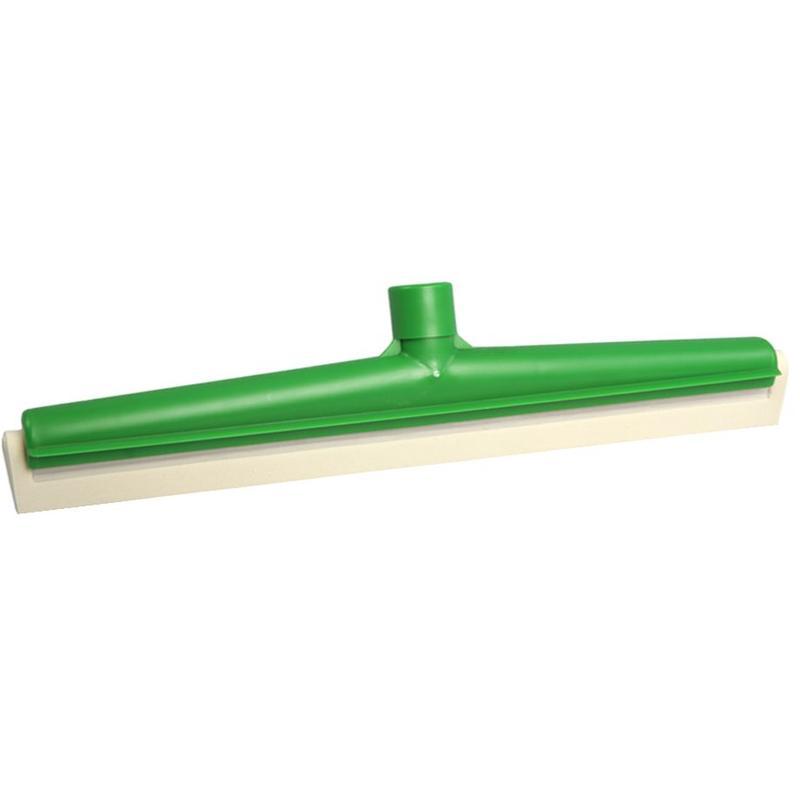 Vloertrekker 50 cm  met vervangbare rubber  Food  -  Groen