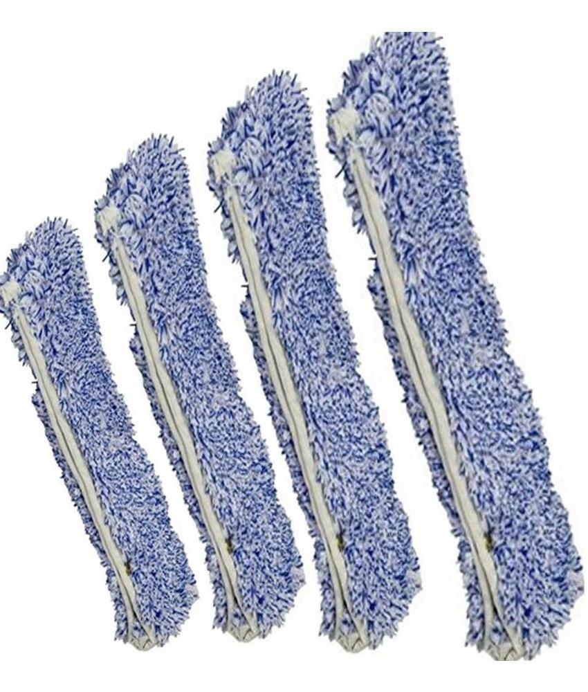 Inwashoes Microvezel Soft  blauw/wit