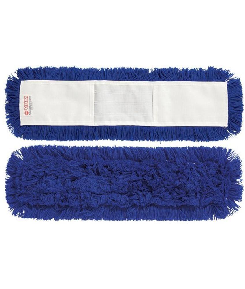 Vloermop 40 cm.  Synthetisch  -  blauw