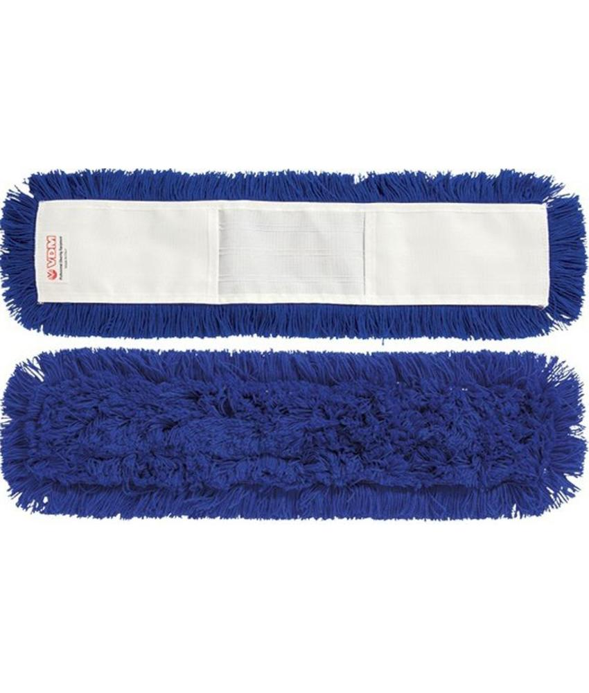 Vloermop 60 cm.  Synthetisch  -  blauw