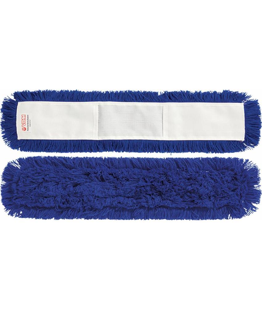 Vloermop 100 cm.  Synthetisch  -  blauw