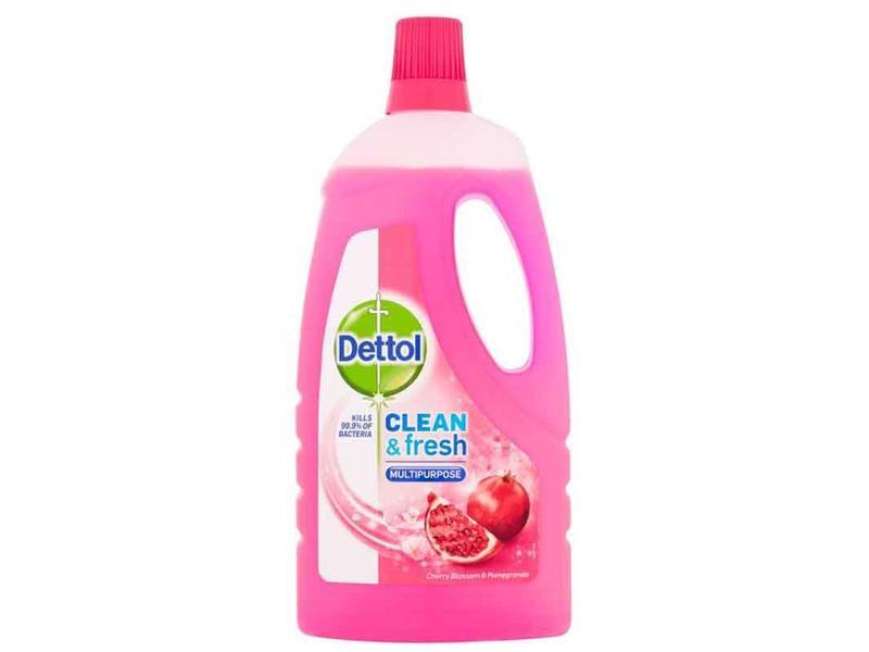 Dettol  Allesreiniger - Clean & Fresh   -  Cherry & Pomegranate 1 liter
