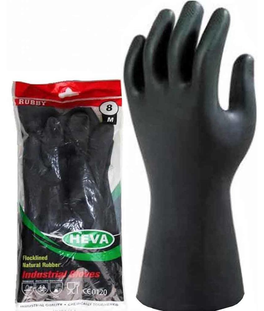 Rubber  werkhandschoenen  -  Industrieel zwart