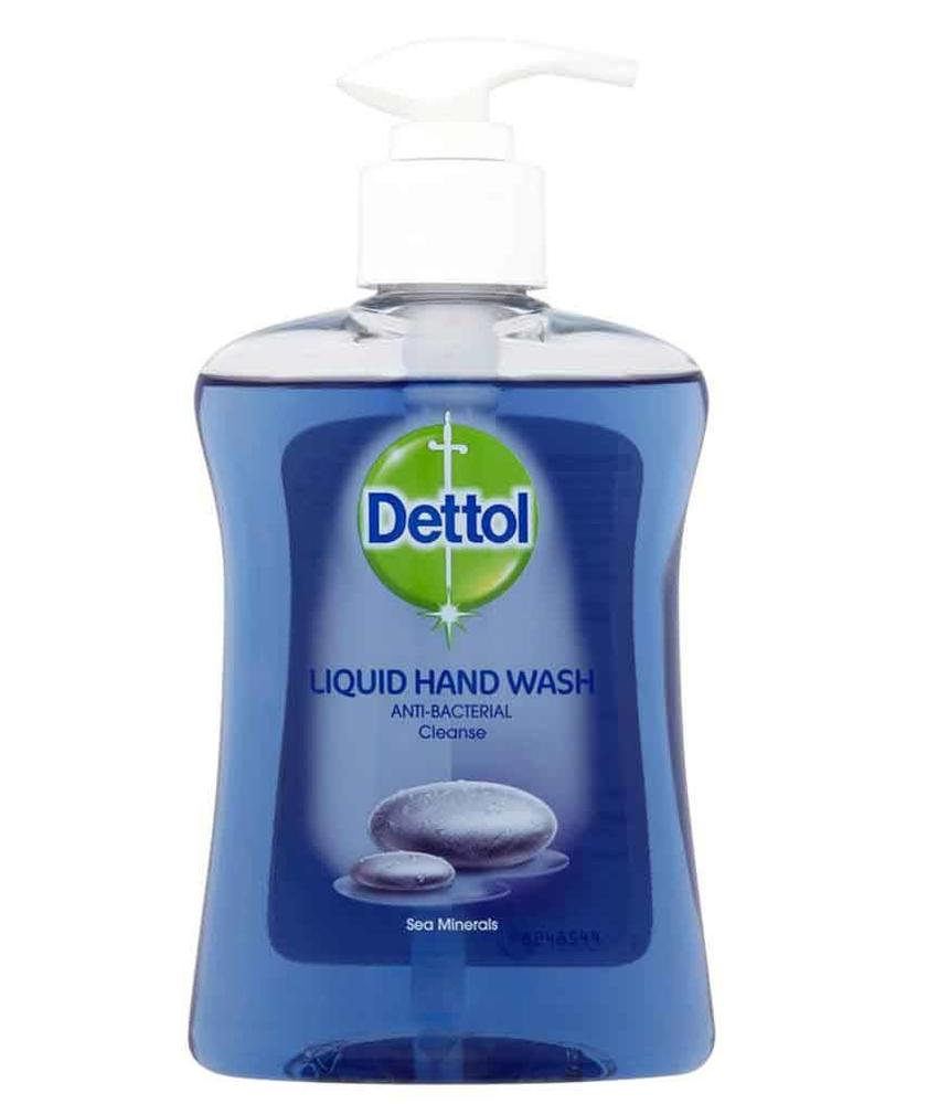 Dettol Hand- pompzeep Anti-Bacterial  250ml  Sea Minerals