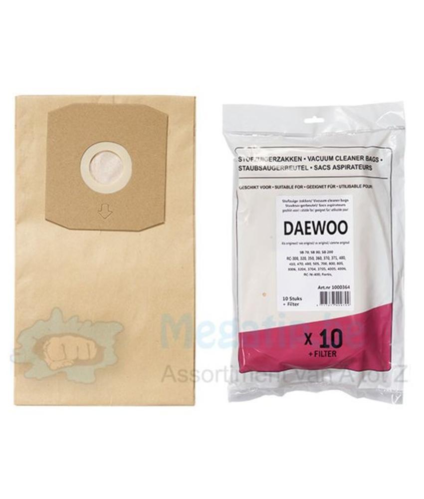 Daewoo RC 300 - 400 Stofzuigerzakken