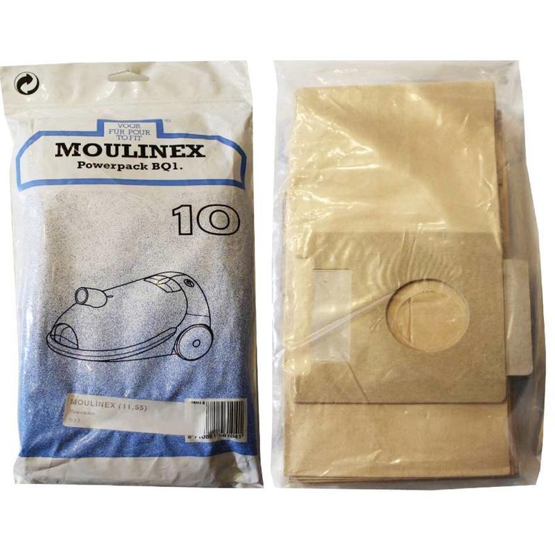 Moulinex Powerpack BQ1 Stofzuigerzakken