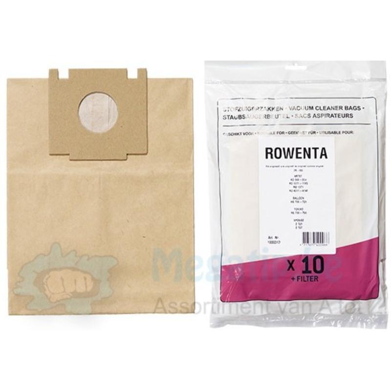 ROWENTA ZR455 Tonixo/ Balloon stofzuigerzakken