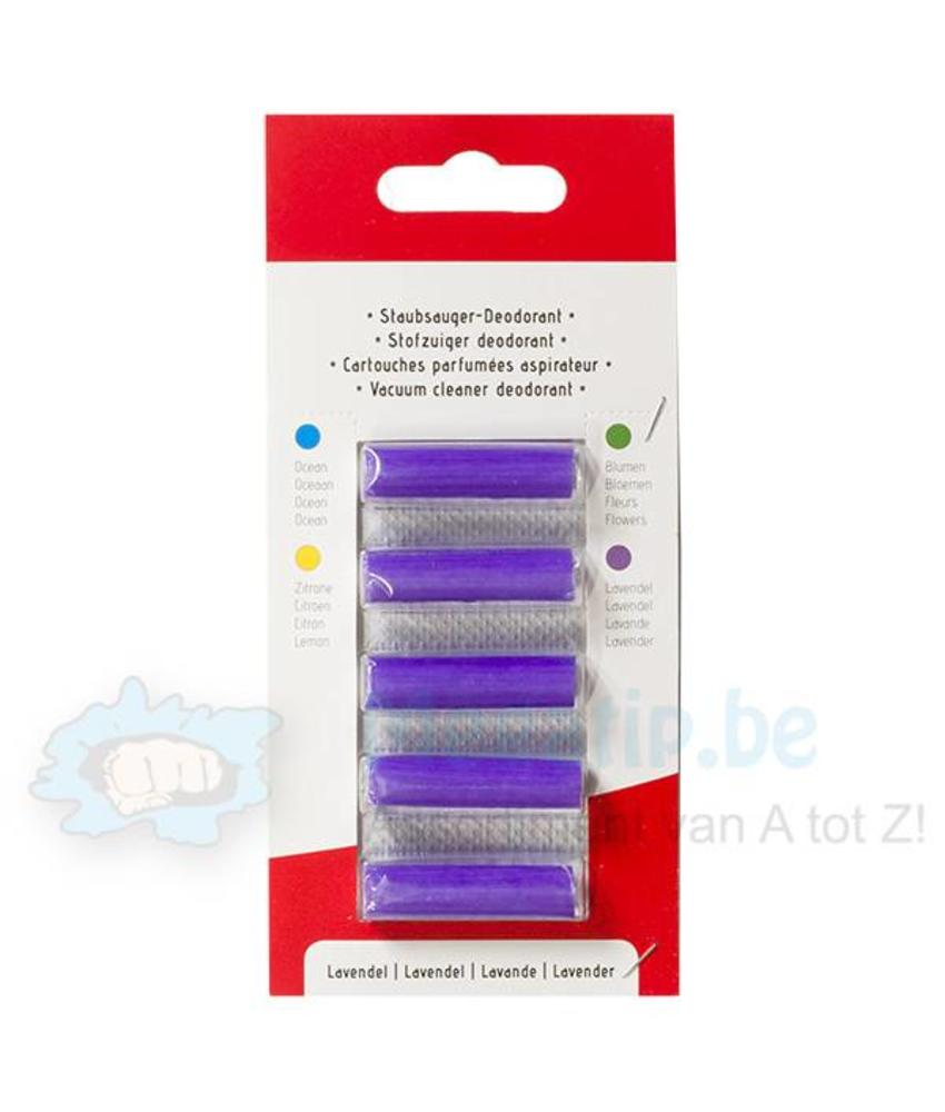 Geurstaafjes Lavendel ( 5 stuks) - Stofzuigerverfrisser