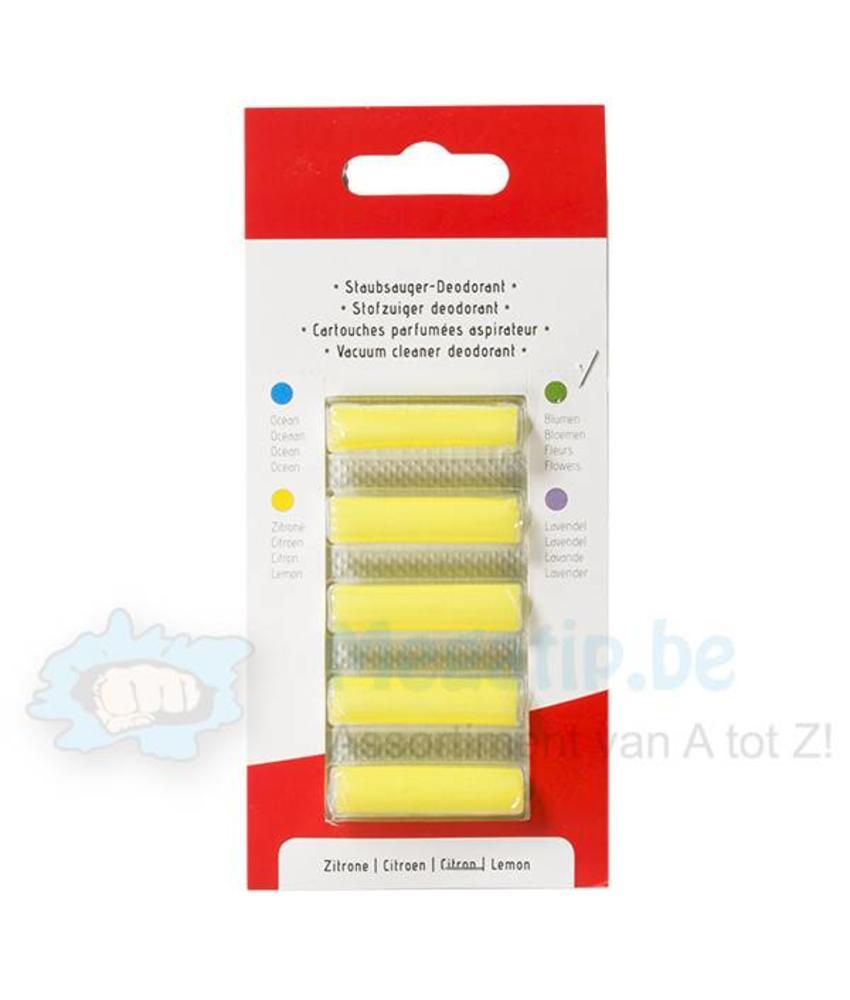Geurstaafjes Lemon  ( 5 stuks) - Stofzuigerverfrisser