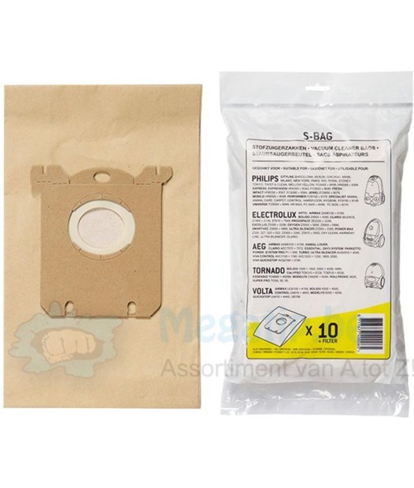 PHILIPS / Electrolux / AEG S-bag stofzuigerzakken