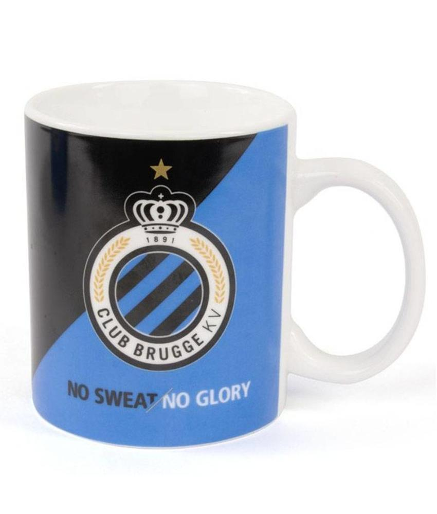"Mok / Drinktas Logo Club Brugge ""No Sweat/No Glory"""