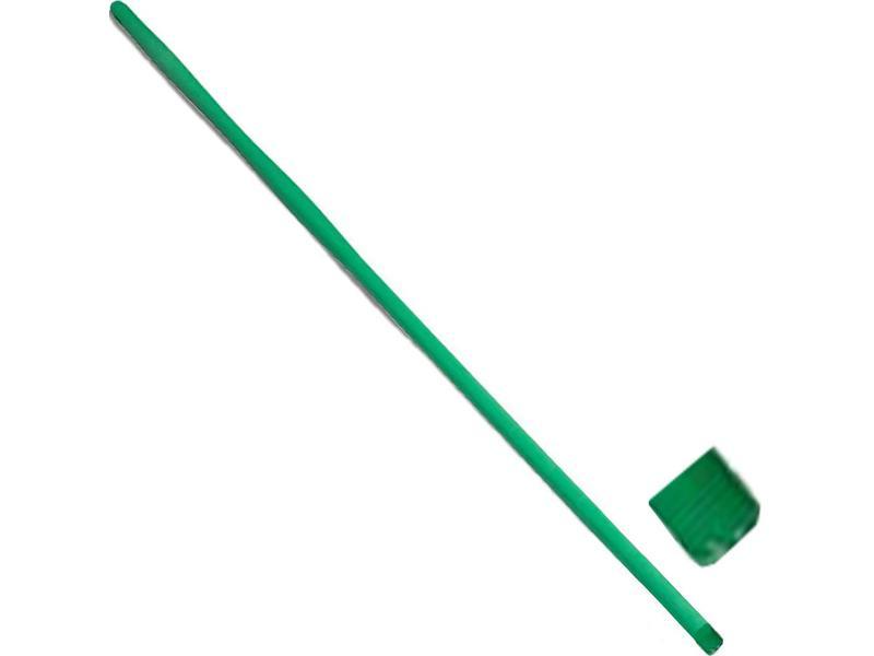 Glasvezel steel monobloc  Groen  1,45 m.