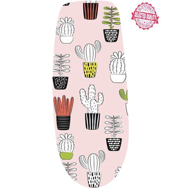 """Strijkplankovertrek 140 x 50 cm  """"Cactus design"""""""
