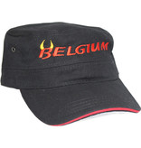 Cap Belgium zwart