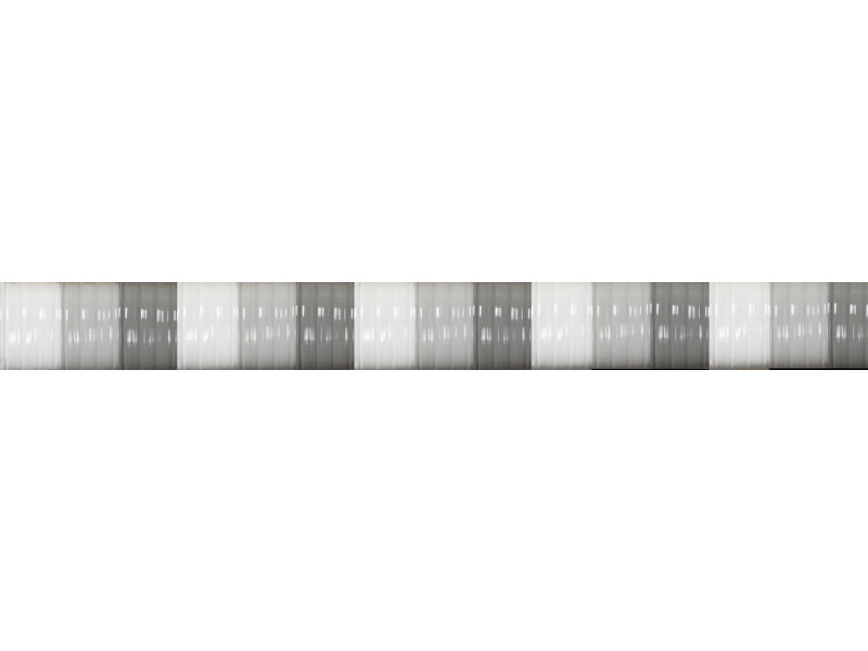 "Vliegengordijn PVC  ""Antilles""   Grijs/Wit  100x220 cm"