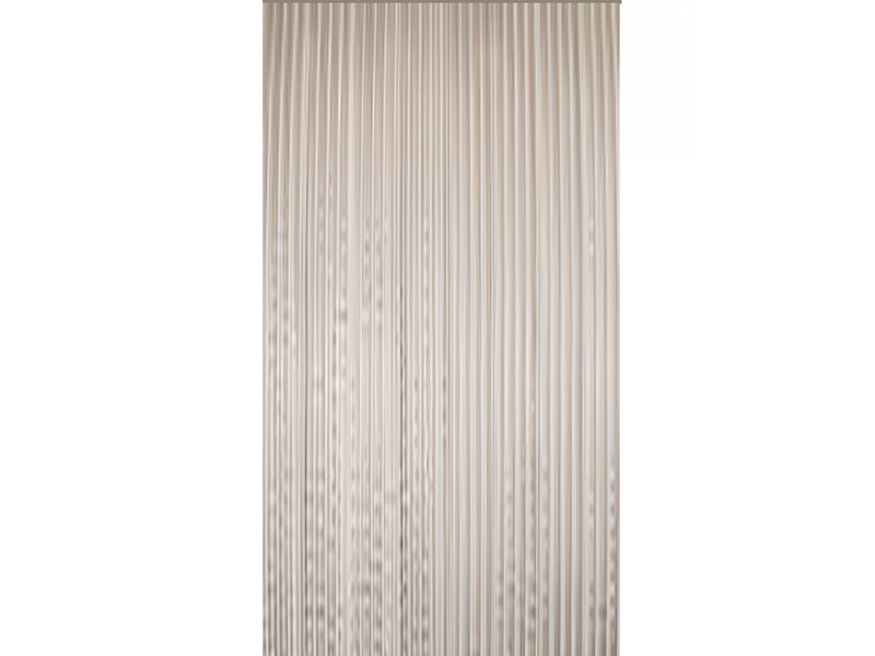 Vliegengordijn  PVC  Transparant 100x220 cm.