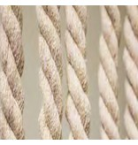Vliegengordijn gevlochten touw Beige  90X200 cm.