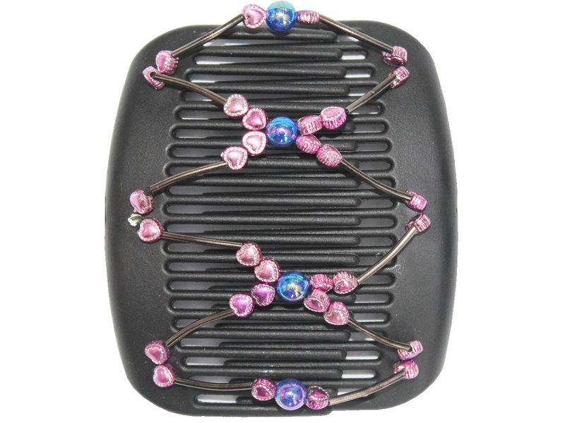 African Butterfly Hair Clips   -  Black / Fine color