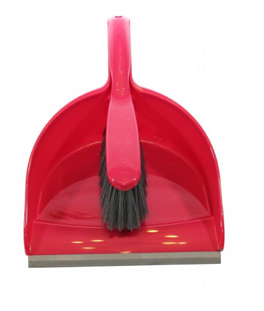 Vuilblik met handvleugel Rood