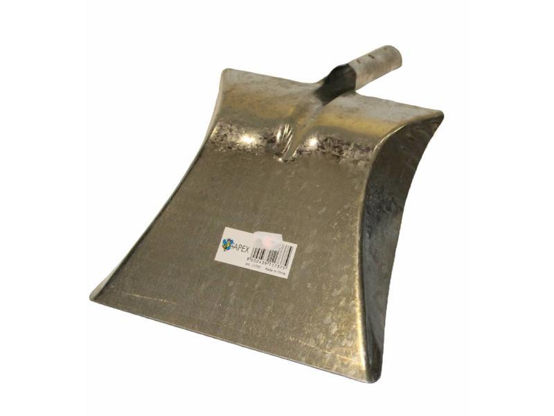 Squizzo Vuilblik Metaal Verzinkt met steelhouder