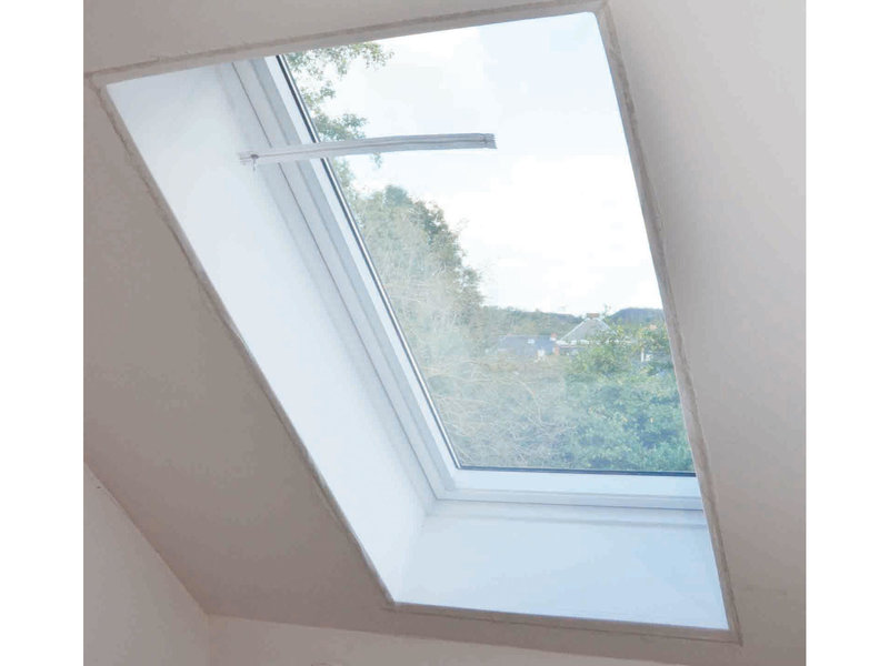Vliegengaas voor dakvensters 150x180 cm.  Wit