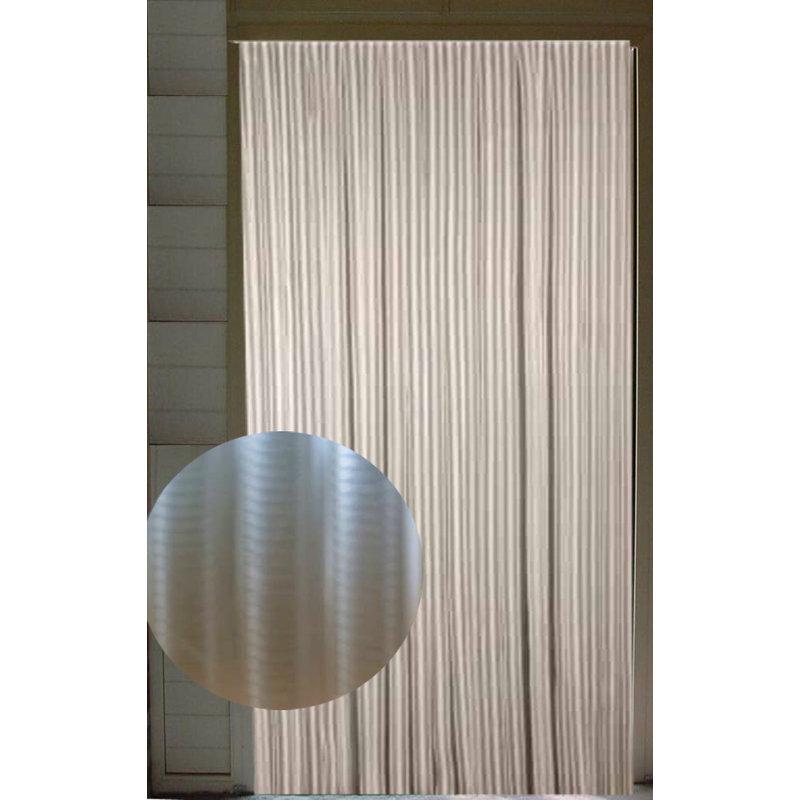 Vliegengordijn pvc Transparant 90x220 cm.