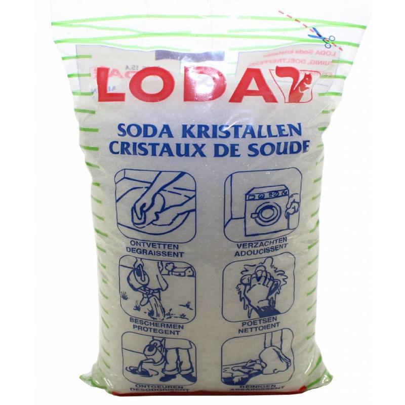 Soda Kristallen 2 Kg.