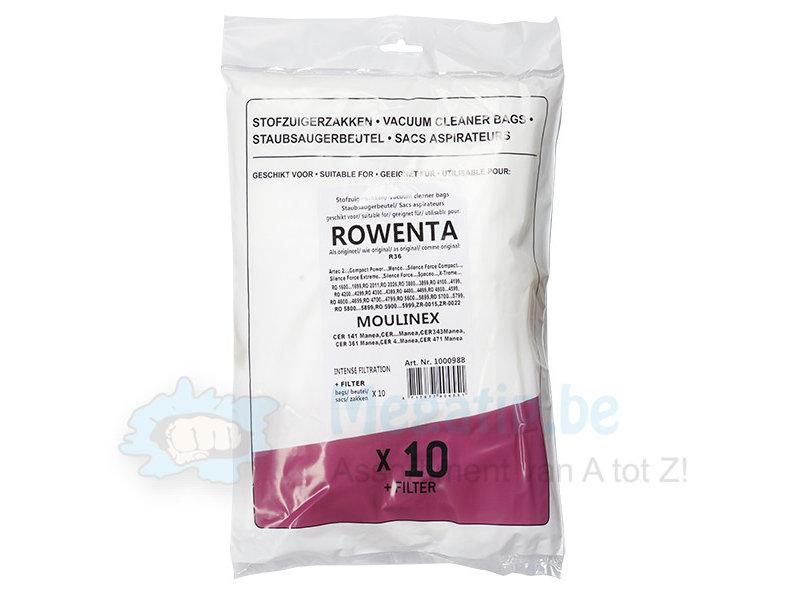 Rowenta  Silence Force / Moulinex  Manea intense filtration